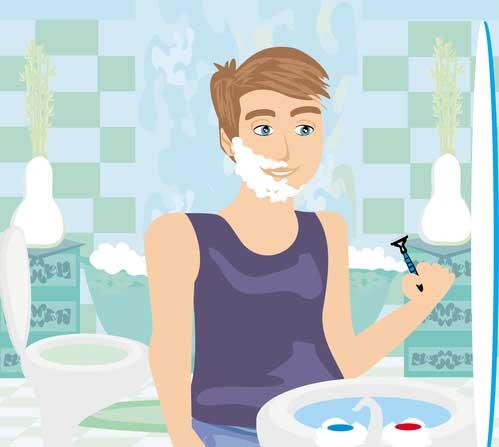 schambereich rasieren ohne pickel